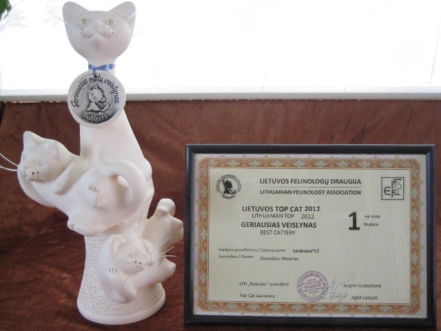 The Best Lithuanian Cattery'2012