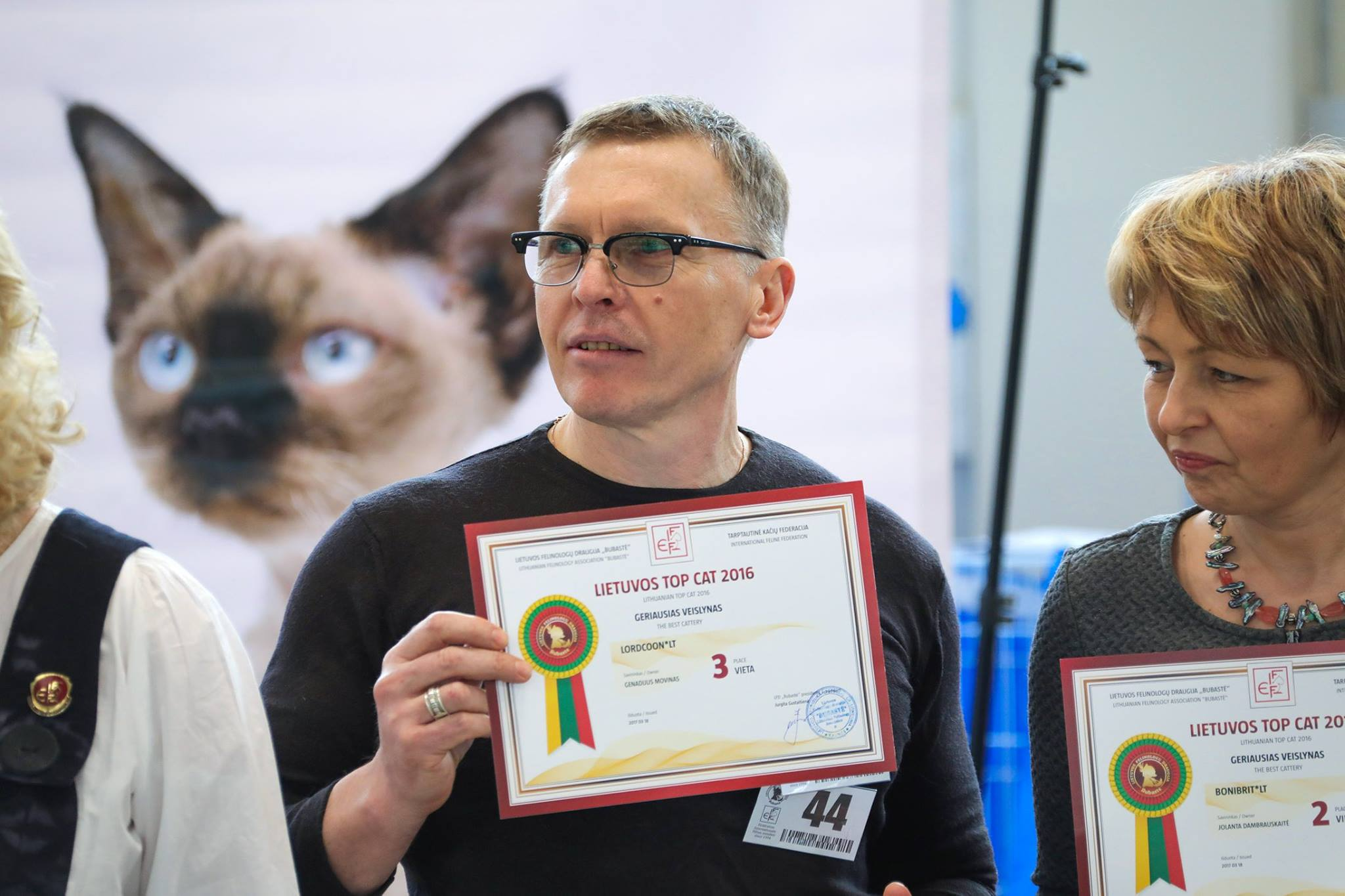 Lithuanian top CAT'2016 and the best Lithuanian Cattery'2016